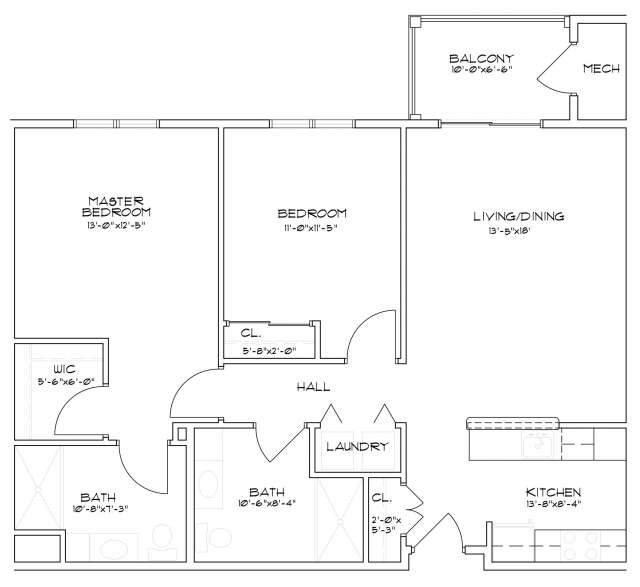 High Rock Floor Plans