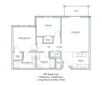 The Berkshire Floor Plans
