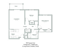 The Corning Floor Plans