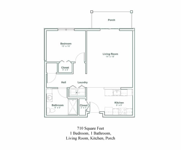 The DeWitt Floor Plans
