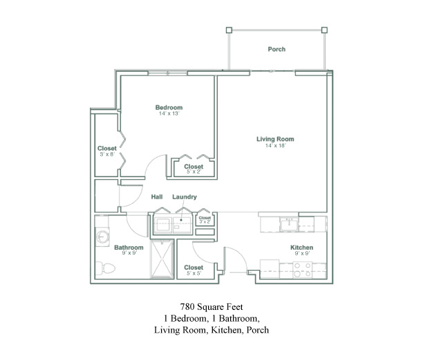 The Van Rensselaer Floor Plans