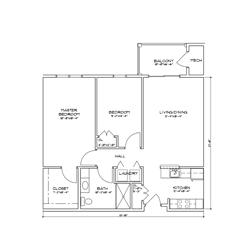 The Yates Floor Plans