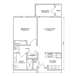 VanDyck Floor Plans