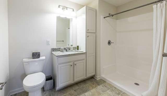 Summit At Glenwyck Apartment Bathroom