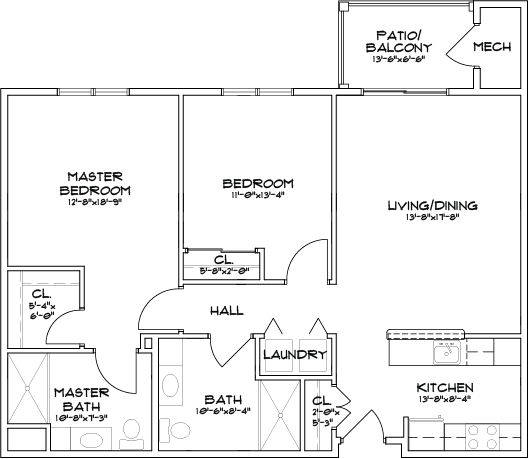 Summit at Mill Hill VanPatten Floor Plan